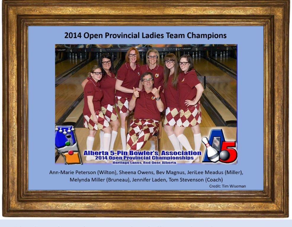 This image has an empty alt attribute; its file name is 2014-Open-Provincial-Ladies-Team-Champions.jpg